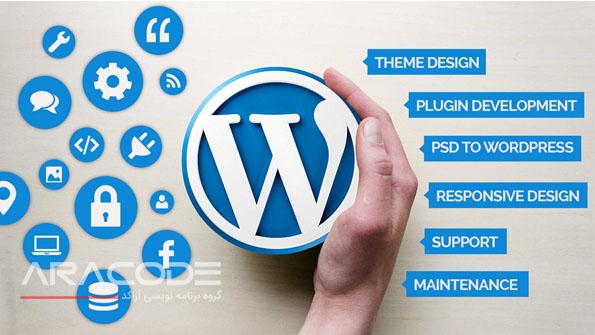 طراحی وب سایت در شیراز با وردپرس